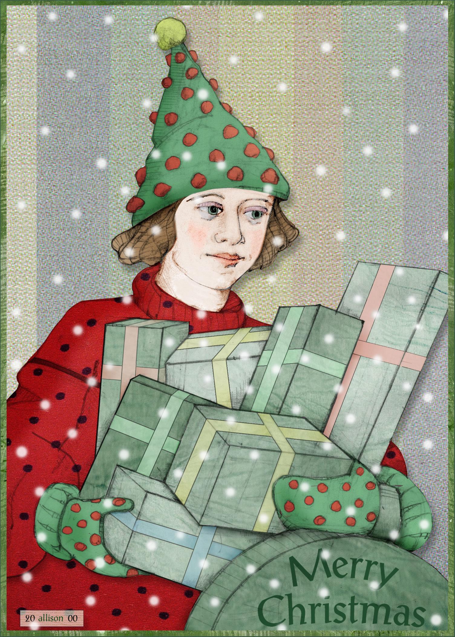Christmas Tree Woman